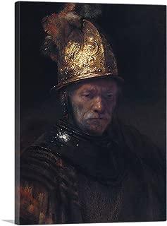 ARTCANVAS The Man with The Golden Helmet 1650 Canvas Art Print by Rembrandt Van Rijn - 26