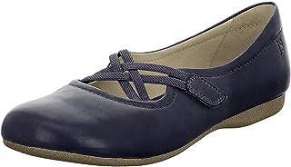 حذاء مسطح للسيدات من Josef Seibel فيونا 41 أحمر - 5. 5 - باليريناز
