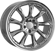 19 Inch Staggered Replica SLR Mercedes Chrome Wheels Hollander 65344