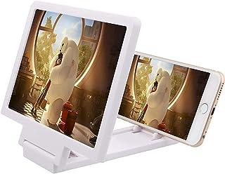 Smartphone Screen Magnifier Foldable Stand Holder,Screen Magnifier Stand Bracket For Mobile Phone Screen Desktop Folding B...