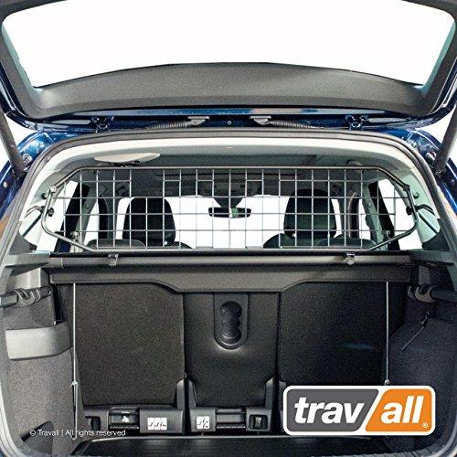 Travall Guard Grilles Pare-Chien Compatible avec Skoda Karoq (2017 et Ulterieur) TDG1590 - Grille de Separation avec Revêtement en Poudre de Nylon