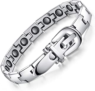 Titanium Bracelet, Silver for Men
