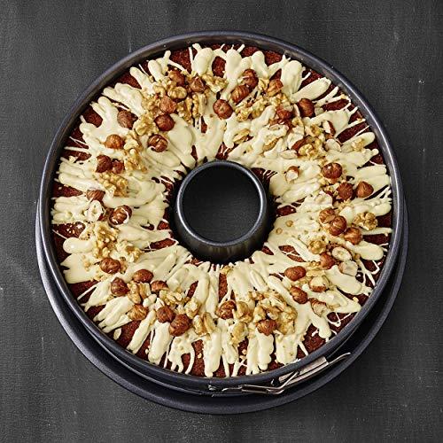 RBV Birkmann 882041 Premium Baking Springform mit zwei Böden 28er