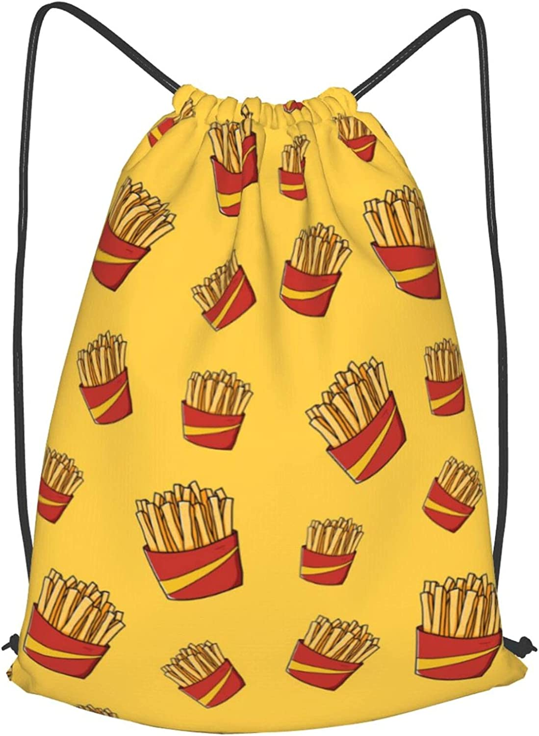 Drawstring Bag French Fries Potato Light Ranking TOP1 Sport Backpa Free shipping anywhere in the nation