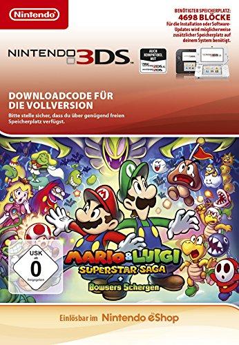 Mario & Luigi: Superstar Saga + Bowsers Schergen  | 3DS - Download Code