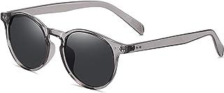Vintage Sunglasses for Mens womens Classic Keyhole Retro Round Sunglasses UV400 Acetate Frame