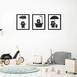 baby bear wall art