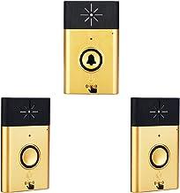 Draadloze voice intercom deurbel 2-weg talk monitor met 1 * knop voor buitenapparaat 2 * binnenapparaat receiver Smart Hom...