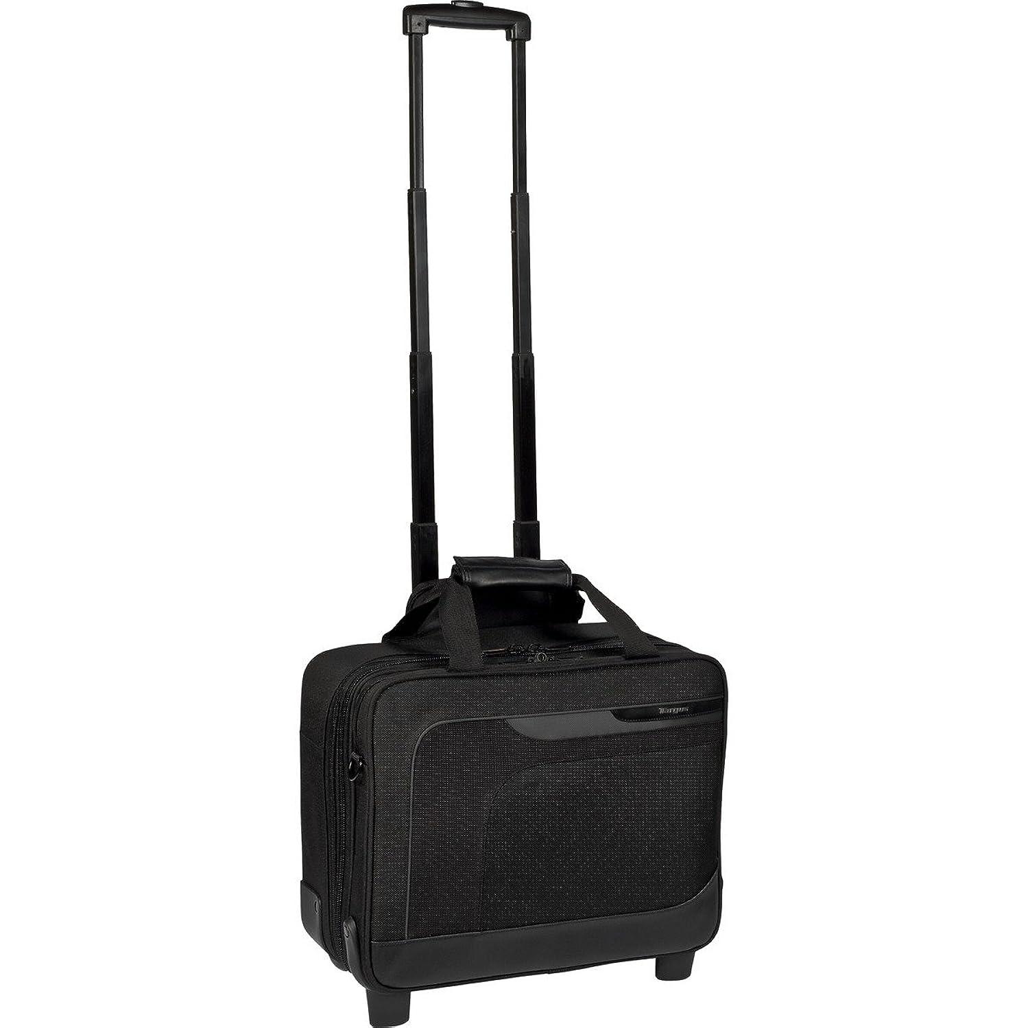 Targus Checkpoint-Friendly Mobile Elite Roller for 15.6 Inch Widescreen Laptops TBR006US (Black)
