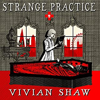 Strange Practice     A Dr Greta Helsing Novel              By:                                                                                                                                 Vivian Shaw                               Narrated by:                                                                                                                                 Suzannah Hampton                      Length: 9 hrs and 22 mins     190 ratings     Overall 4.2
