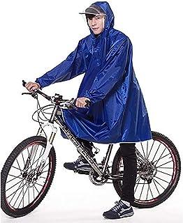 レインコート自転車自転車出席レインコートフリーサイズユニセックス軽量防水 (色 : D)