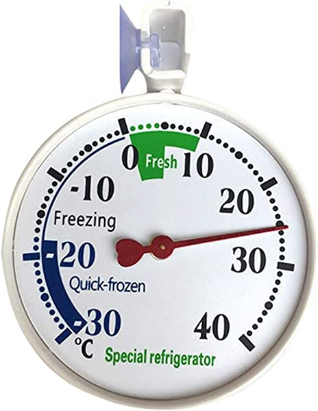 Heyu Lotus Functional Home Factory Fridge Hanging Thermometer Refrigerator Freezer Indoor Or Outdoor Thermograph Measuring Tools None Picture Color