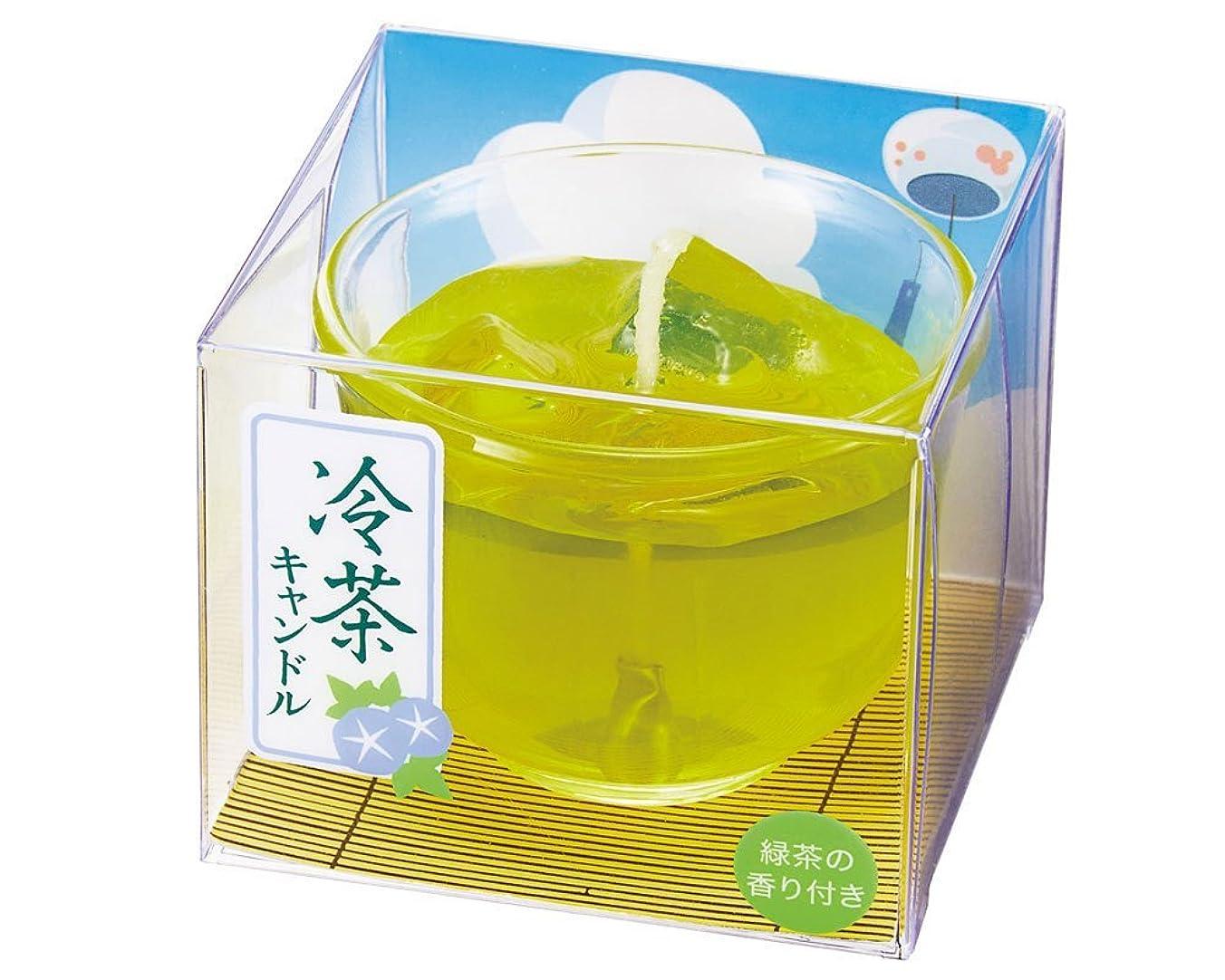 中でモス味わう冷茶キャンドル 1個
