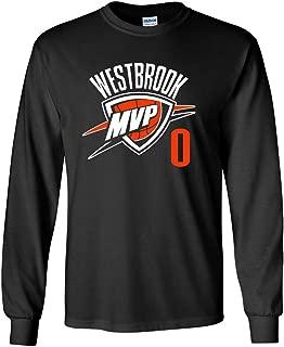 Cross-Over Clothing Long Sleeve Black Oklahoma City Westbrook T-Shirt