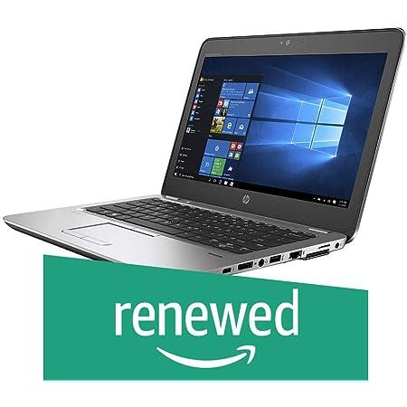 (Renewed) HP Elitebook Intel 6th Gen Core i5 12.5-Inch (31.75 cms) 1366x768 Laptop (8 GB/240 GB/Windows 10/Intel HD Graphics 520/Silver/1.54 Kg), 820 G3