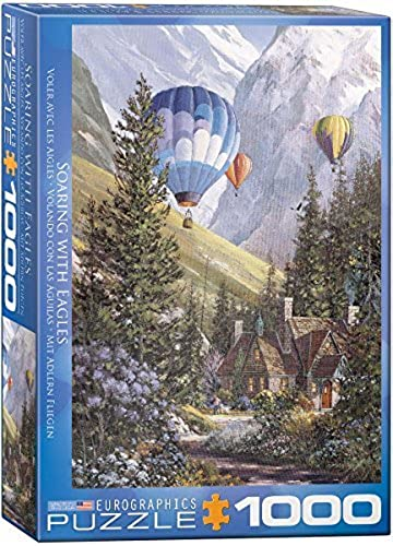 EuroGraphics Soaring with The Eagles Jigsaw Puzzle (1000-Piece) by EuroGraphics