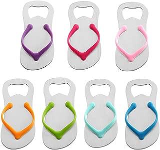 QLL 7 pack Flip-flop Bottle Opener, Gift Wrap for Each Opener