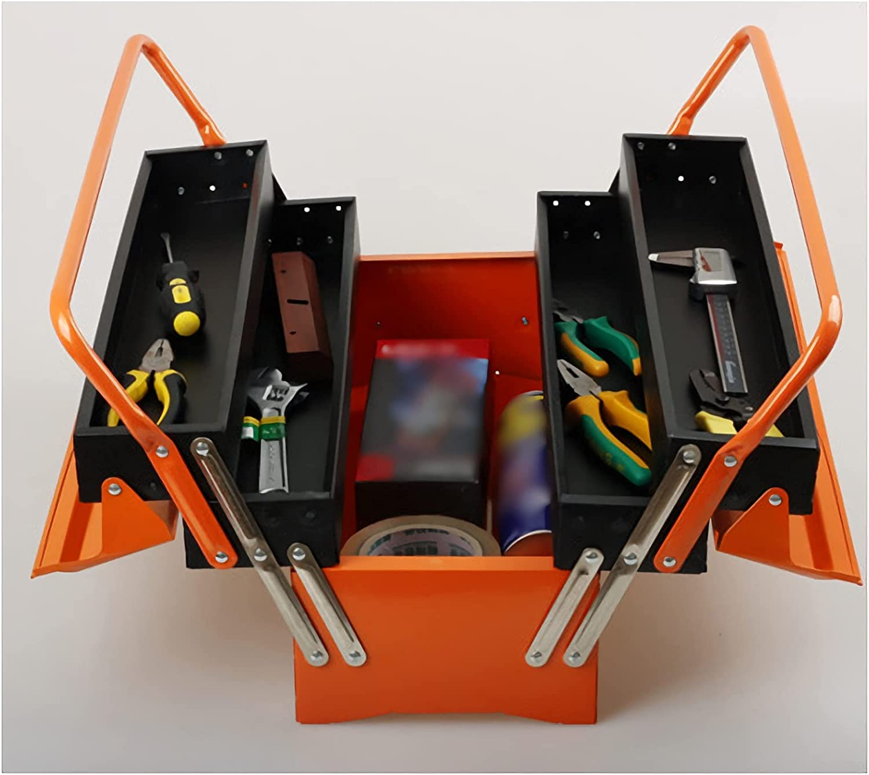 CJshop Tool Max 81% OFF Box Multi-Layer Iron Portable Year-end gift Repai Folding