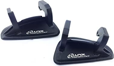 93+ MAZDA RX-7 OUTSIDE DOOR HANDLES STEEL LEFT & RIGHT LS RS SET RX7 FD3S TURBO