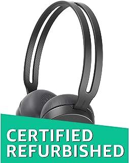 (Renewed) Sony WH-CH400 Wireless Headphones (Black)