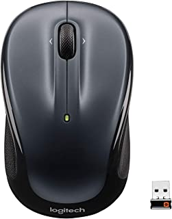 Logitech M325 Wireless Mouse, 2.4 GHz with USB Unifying Receiver, 1000 DPI Optical Tracking, 18-Month Life Battery, PC / M...
