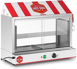 Royal Catering Cuiseur À Vapeur Pour Hot Dogs Machine Appareil Pro Professionnelle RCHW 2500H (300 saucisses + 100 pains, ...