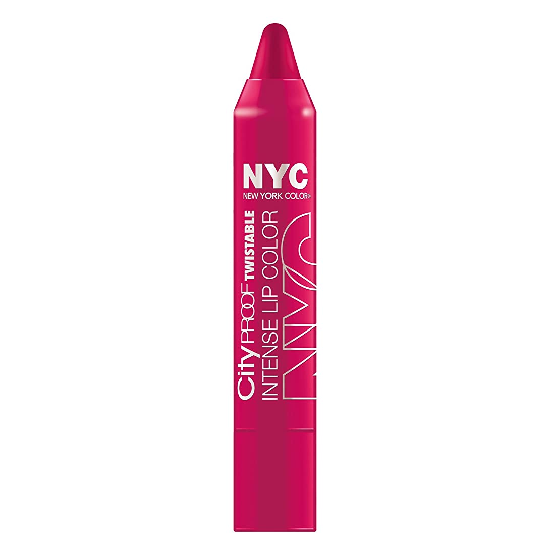 ピア食事を調理する抗議NYC City Proof Twistable Intense Lip Color - Ballroom Blush