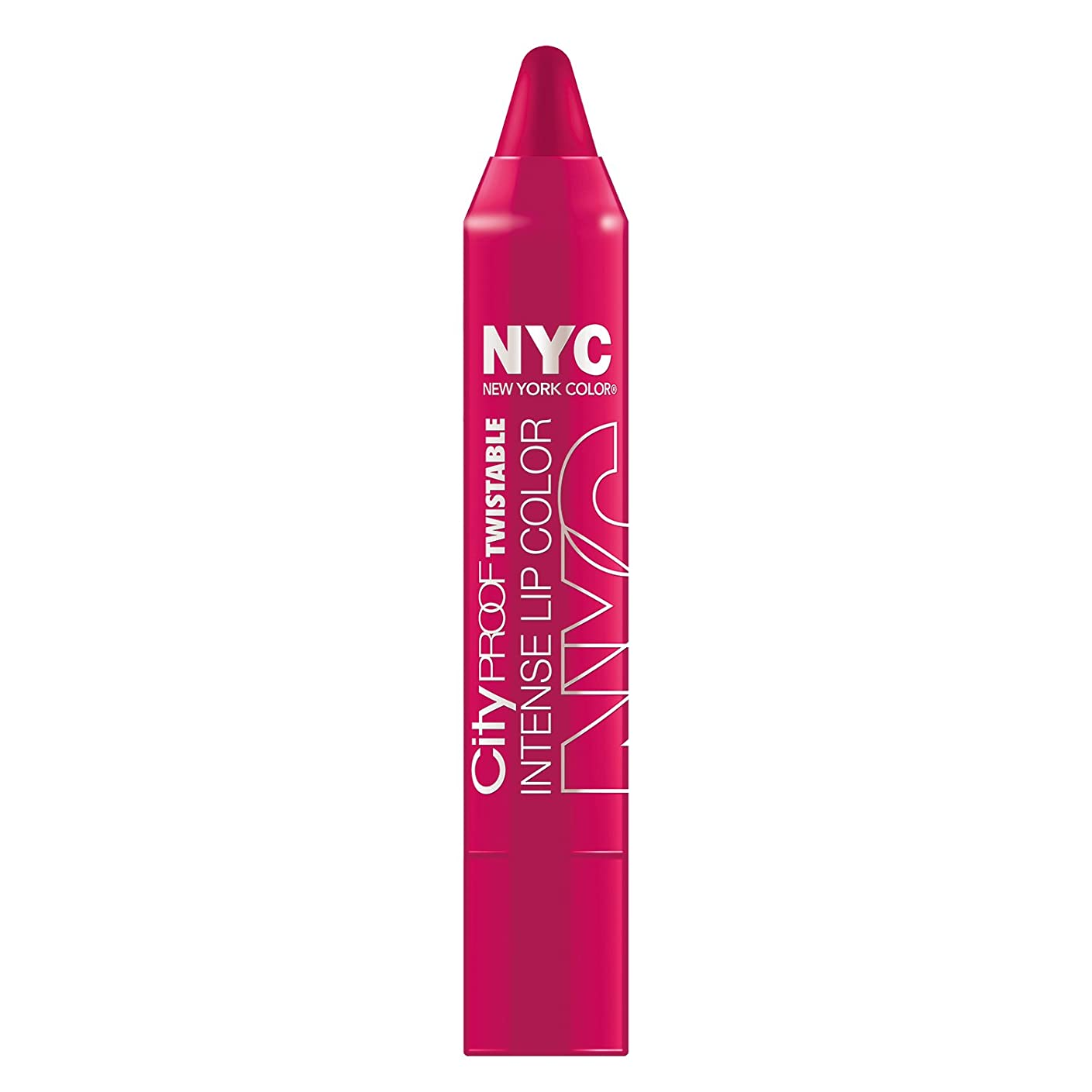 普及ロースト擬人NYC City Proof Twistable Intense Lip Color - Ballroom Blush