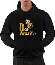 Ya Like Jazz Hooded Sweatshirt Marent Codde Bee Movie ya Like Jazz