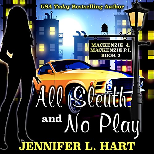 All Sleuth and No Play audiobook cover art