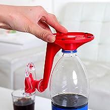 HUANGDAN Distributeur de Soda 2 pièces Distributeur d'eau de Boisson de Coke réutilisable avec Interrupteur à Pression Man...