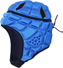 surlim Rugby Helmet Headguard Headgear for Soccer Scrum Cap Head Protector Soft Protective Helmet for Kids Youth Adult