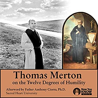 Thomas Merton on the 12 Degrees of Humility audiobook cover art
