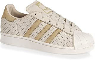adidas Youth Superstar Fashion J Leather Trainers