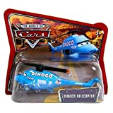 Disney / Pixar CARS Movie 1:55 Die Cast Checkout Lane Package Dinoco Helicopter