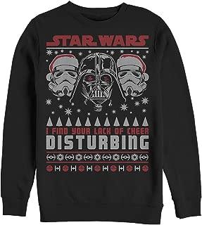 Star Wars Men's Lack of Cheer Ugly Christmas Sweater Sweatshirt