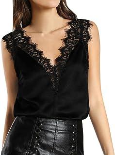 f072e26aced7 Amazon.es: Blusas De Encaje Elegantes: Ropa