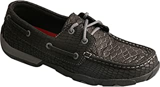 Ladies Driving Moccasins Charcoal