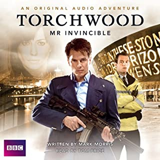 Torchwood: Mr Invincible audiobook cover art