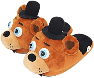 EASTVAPS Chaussures Five Nights at Freddy Chaussures Home Floor Peluche Coton Pantoufles Anime