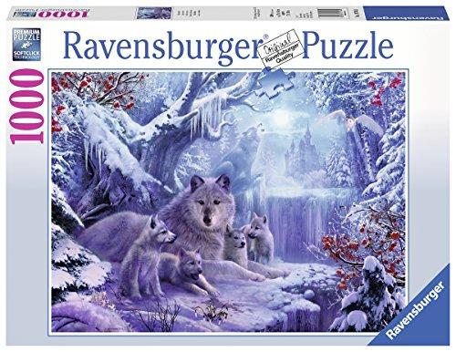 Ravensburger Puzzle 19704 - Winterwölfe - 1000 Teile