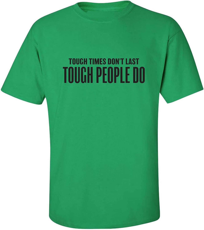 zerogravitee Tough Times Don't Last Adult Short Sleeve T-Shirt