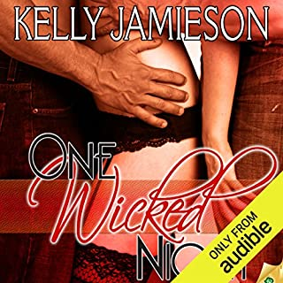 One Wicked Night audiobook cover art