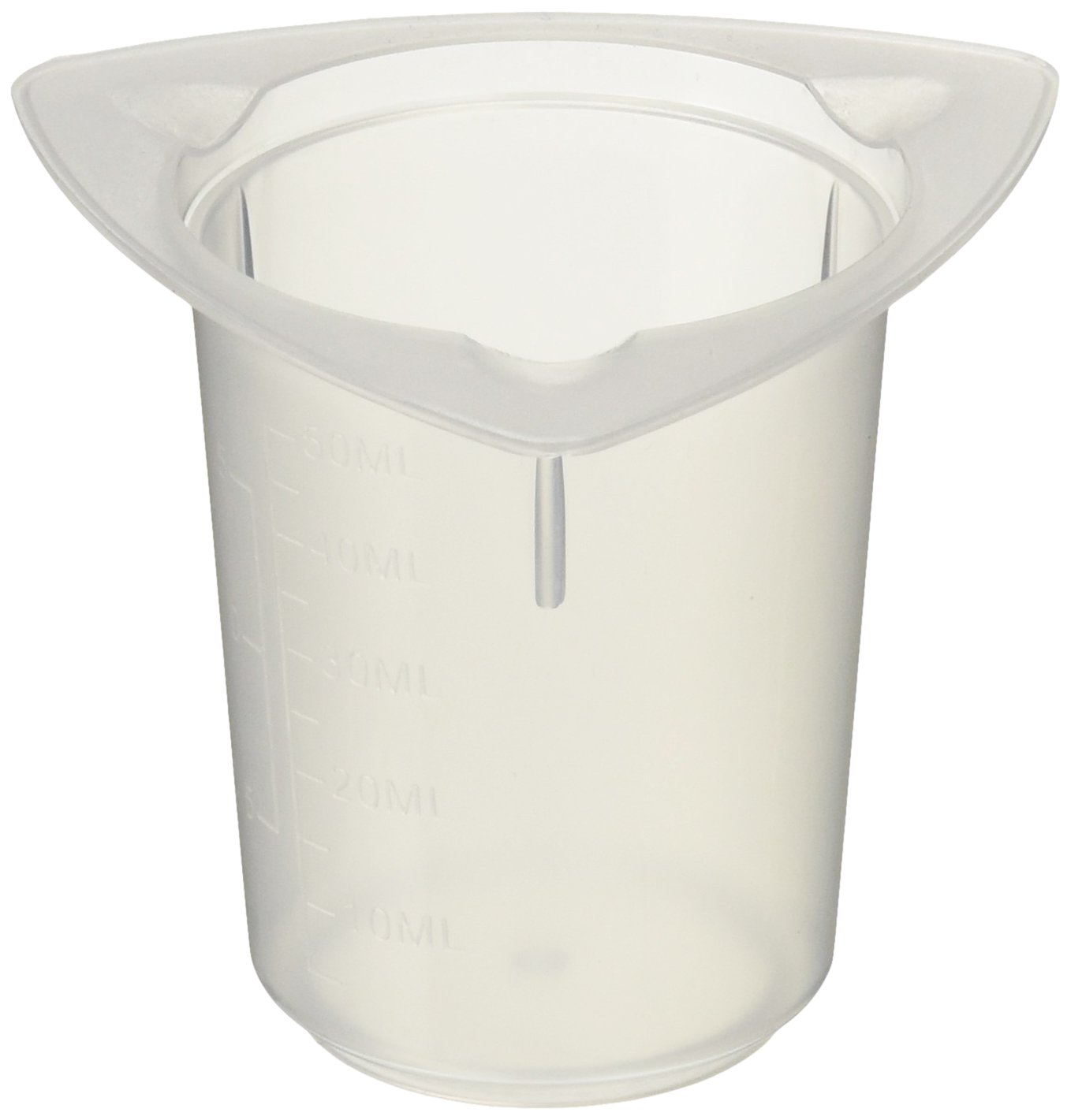 Fisher Scientific 14-955-111A Tri-Cornered quality assurance Beakers Lowest price challenge Polypropylene