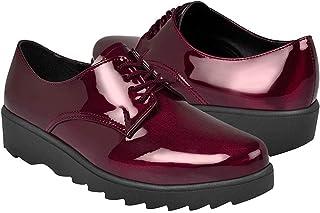STYLO Zapatos Casuales para Dama 3319 Vino