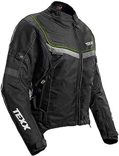 Jaqueta TEXX New Strike V2 Ld Feminina Preta E Verde 2XL