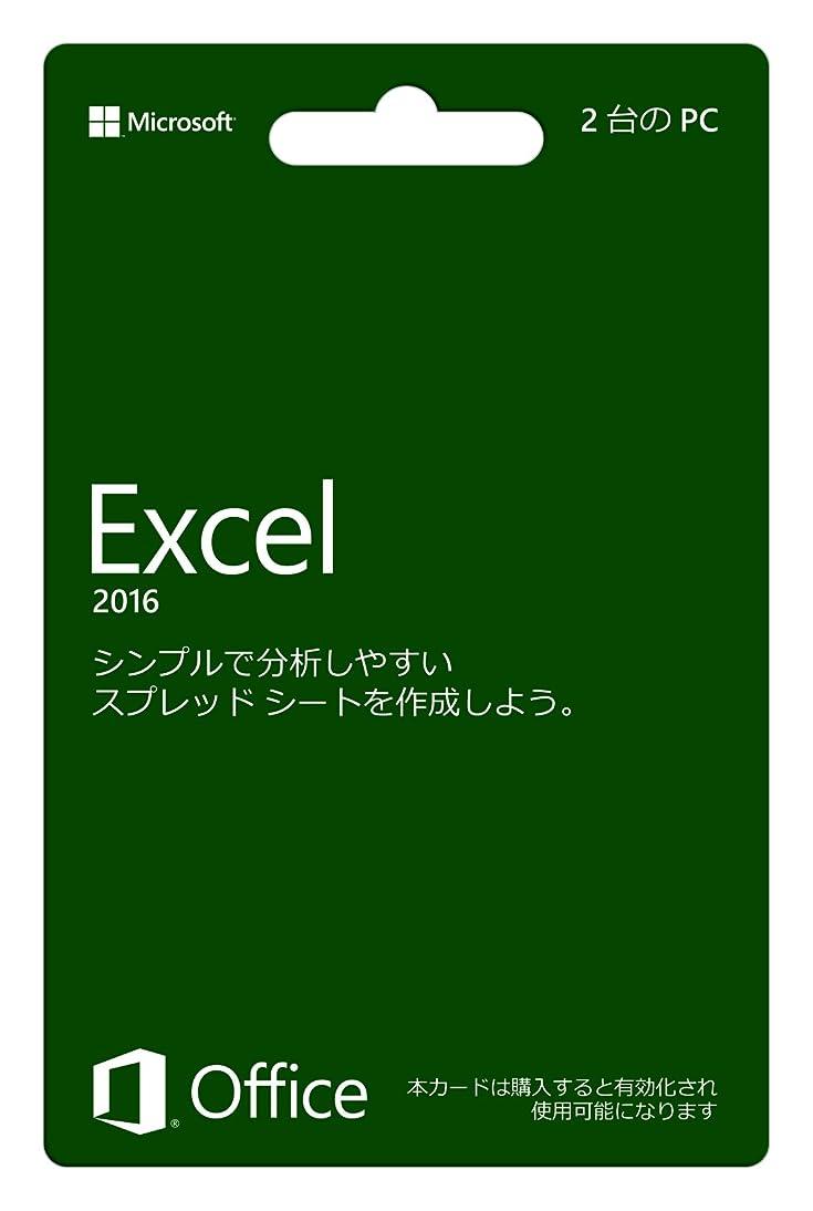仮定燃やす懐【旧商品/販売終了】Microsoft Excel 2016 (永続版)|カード版|Windows|PC2台