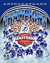NHL Tampa Bay Lightning 2015 Eastern Conference Champions Team Photo (Size: 8