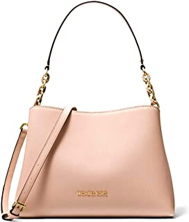 Michael Kors Sofia Large Leather EW Satchel Shoulder Bag