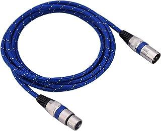 Cable de audio XLR de 3 pines (macho a hembra) para amplificadores, micrófonos y mezcladores de sonido. 1 m / 1,8 m / 3 m / 5 m / 10 m / 15 m / 20 m, 3M.